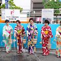 写真: 一宮七夕祭り2018・打ち水大作戦(2)