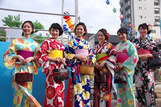 写真: 一宮七夕祭り2018・打ち水大作戦(9)