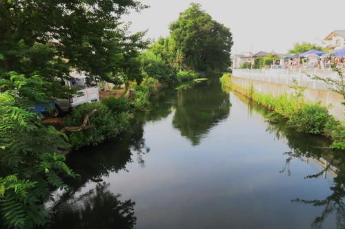 五行川の支流
