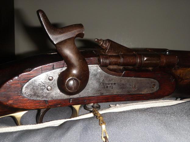 スナイドル銃の機関部