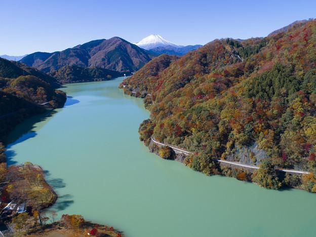 丹沢湖の秋