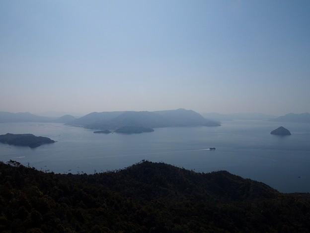 弥山より瀬戸内海
