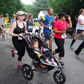 5K Race with a Stroller 8-22-15
