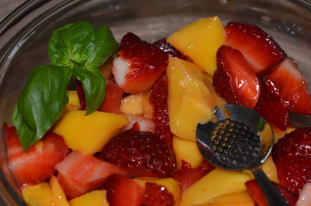 Mango & Strawberry Salad 3-11-18