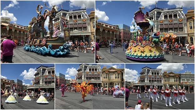 Disney Festival of Fantasy Parade 8-20-18