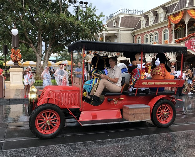 Micky, Minnie, Donald and Goofy 8-22-18