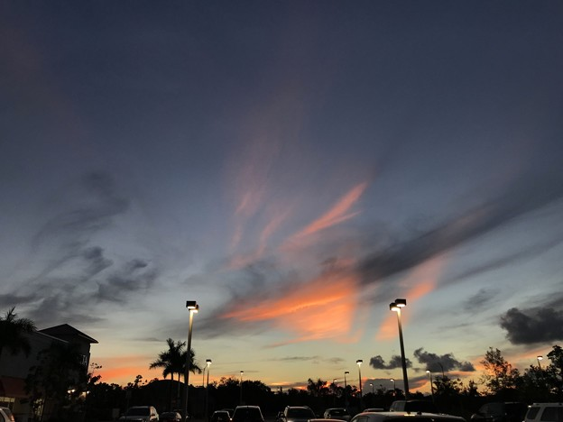 Afterglow and the Rays 9-8-18