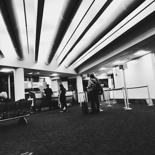 Photos: 後20分程で搭乗