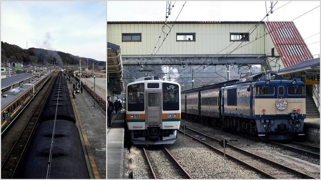 横川駅で 2019-1-12