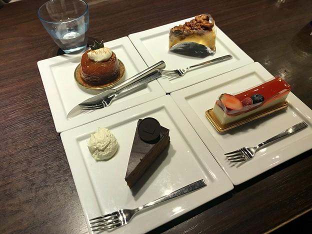 ケーキ食べました。2019-1-14