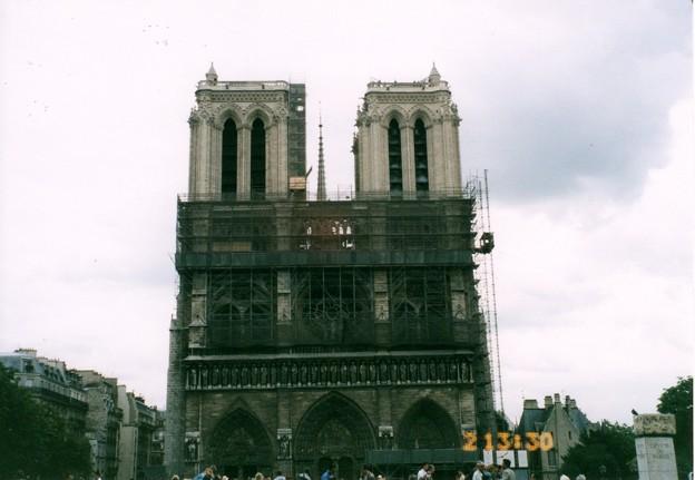 Notre-Dame de Paris 2 juillet 1996