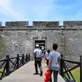 Walking to Castillo de San Marcos 5-11-19