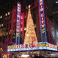Photos: RADIO CITY Music Hallのツリー