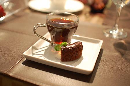 コーヒーとチョコレートケーキ