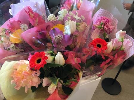 はなちゃんのサプライズ花束