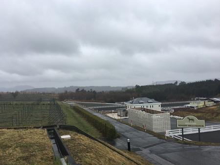 広大な敷地は畑と様々な施設がありますね到着!近場だけど山の中にありましたわ@中伊豆ワイナリー