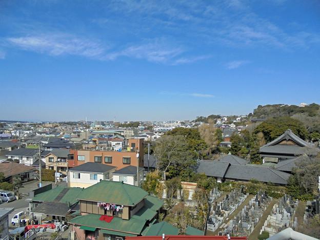 湘南江の島駅のホームからの眺望