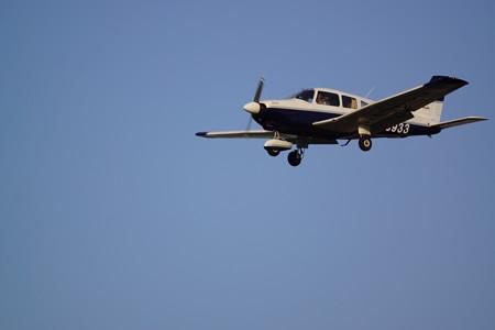 JA3933着陸します