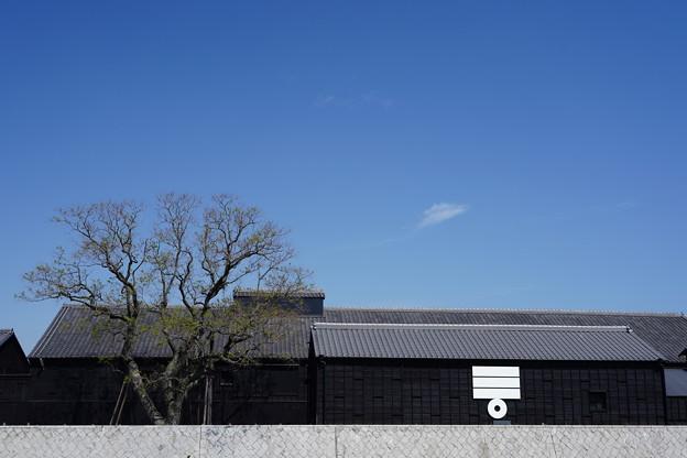 倉庫のある風景