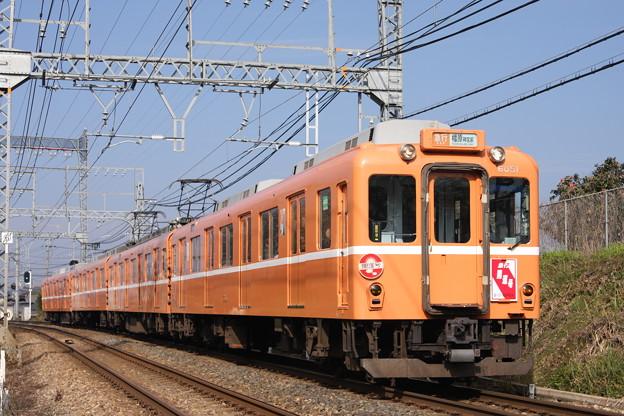 写真: 近鉄6020系(ラビットカー) 急行開運号