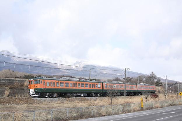 しなの鉄道115系・湘南色