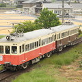 写真: 琴電レトロ(GW特別運行)