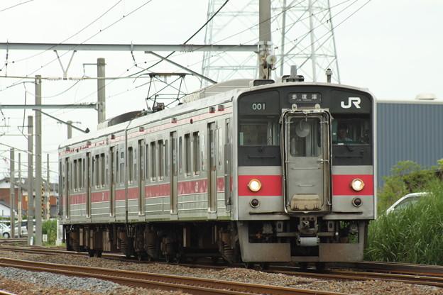 121系(ワンマン改造車)
