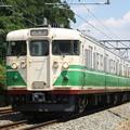 写真: しなの鉄道 115系(旧信州色)