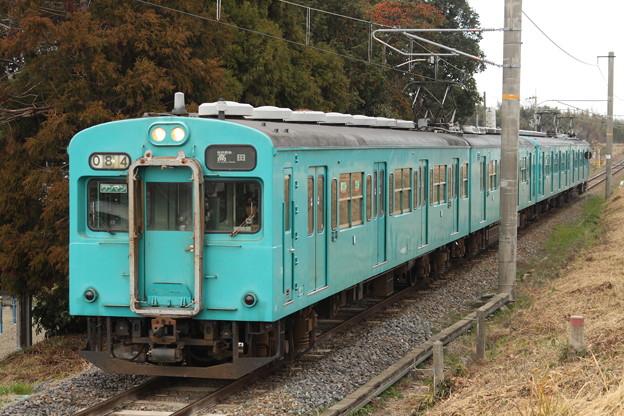 桜井線105系(初詣臨)