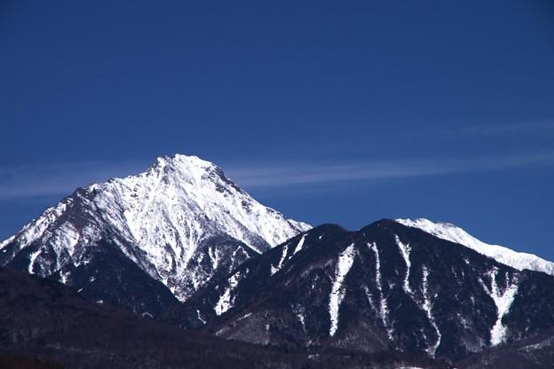 八ヶ岳の主峰赤岳