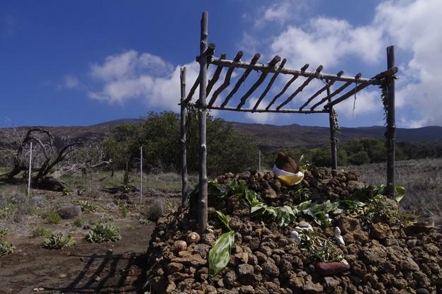 MaunaKeaに居る雪の女神「ポリアフ」の祭壇?