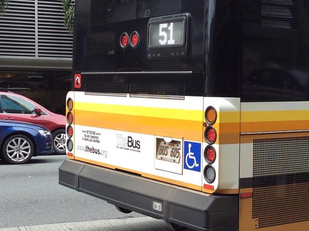 """Photos: """"The Bus""""のナンバープレートは""""BUS""""から始まる"""