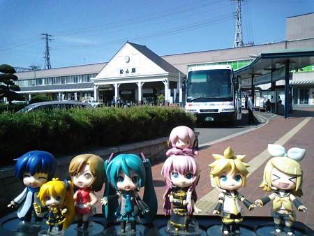 それでは松山駅より、漫遊紀行の3日目、再開します(≧▽≦)ゞ