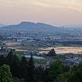 信夫山 皐月の朝