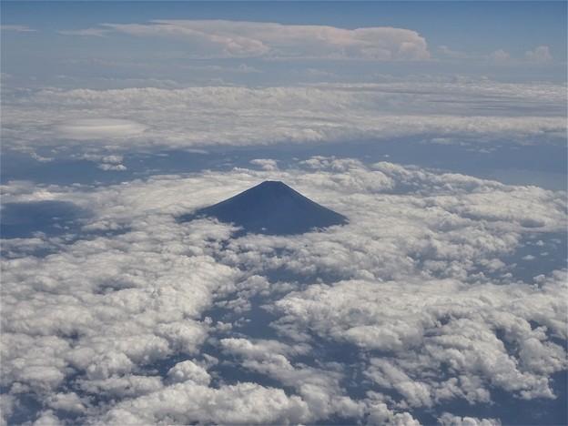 富士を見下ろす・・・