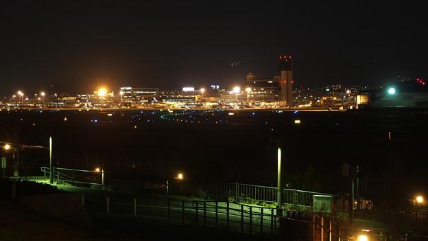伊丹スカイパーク 夜景
