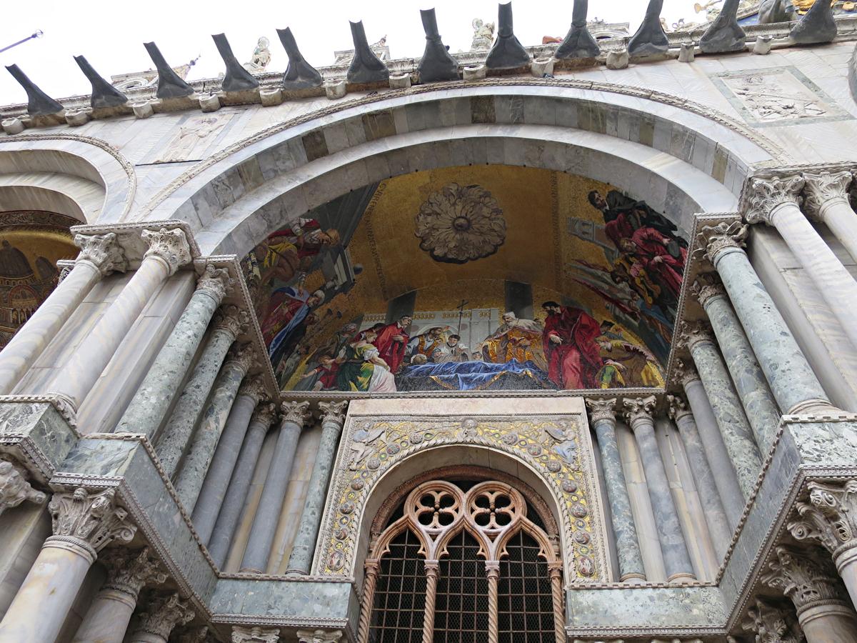 ヴェネツイア総督および市民の聖マルコ遺体歓迎