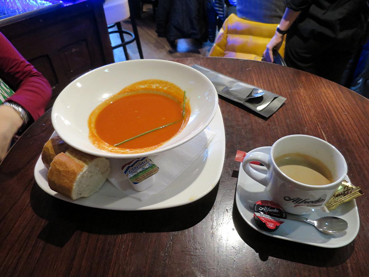 珈琲とスープ