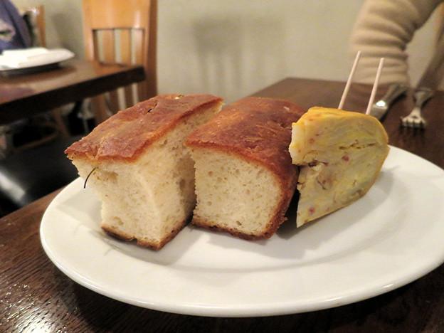 パンとオムレツ