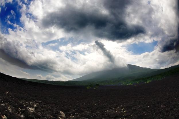 岩手山 焼き走り溶岩流
