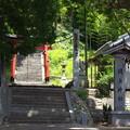 写真: 岡上神社