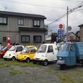 本日は、ミニカーのプチ展示会へ参加致しました。 雨にも降られず、ちょうど良いお天気でした (^_^)