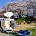 Photos: 2018_0331_082933 テレビ中継
