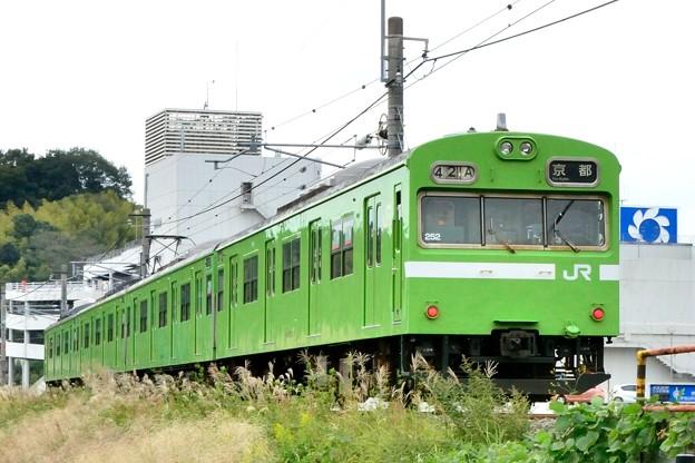 Photos: 2013_1019_143935_奈良線の103系