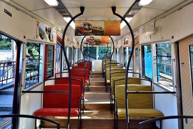 2019_0804_161250 座席も赤と黄色に張り替えられました。
