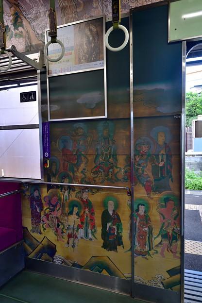 2019_0813_160143 内装の壁は観音様の障壁画