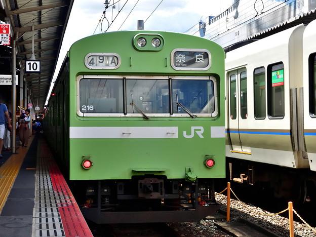 Photos: 2019_0813_130815 奈良線の103系