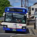 2019_0813_154234 周山街道に向かうバス
