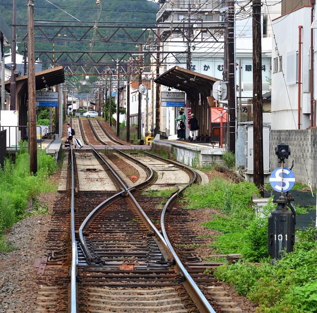 Photos: 2019_0813_155613 嵐電北野線 常盤駅と鳴滝駅