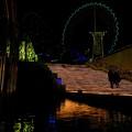 写真: 【2015冬のコンクール】夜のカイダン